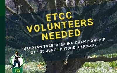 Bénévoles nécessaire – ETCC 2019